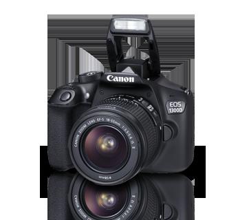 Canon EOS 1300D + 18-55