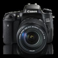 CANON EOS 760D + LENS 18-135MM IS STM