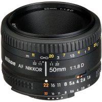 لنز نیکون مدل AF NIKKOR 50mm f/1.8D